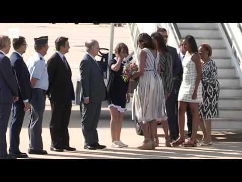 Michelle Obama llega a España con un proyecto solidario