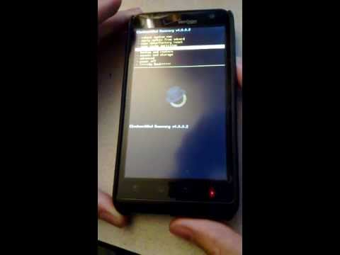 LG Revolution 4G Boot into ClockworkMod Recovery