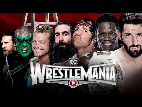 Intercontinental Championship Ladder Match - Wrestlemania 31 Wwe 2k15 Simulation video