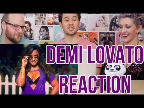 DEMI LOVATO - Sorry Not Sorry -MV REACTION!!