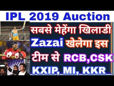 IPL Auction 2019: इस विस्पोटक बल्लेबाज़ को खरीदेगी ये टीम, RCB, CSK, KXIP, MI, KKR