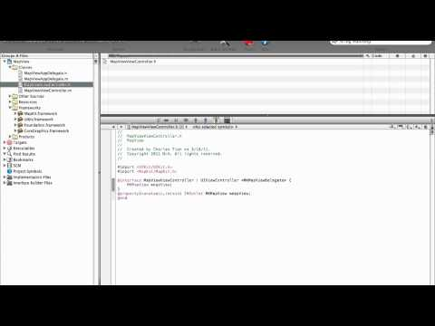 Xcode Tutorial: MapView Set Location