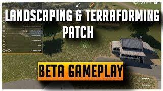 Terraforming and Landscaping patch, Beta Gameplay | Farming Simulator 2019
