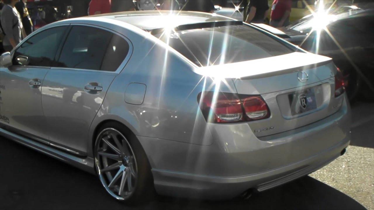 Dubsandtires Com Lowered Lexus Gs 300 Asanti Forgiato Tsw