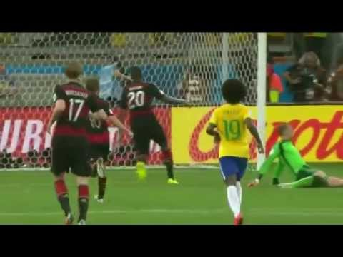 Brazil 1 - 7 Germany (Brazilian commentary)