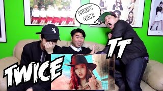 TWICE TT MV REACTION FUNNY FANBOYS