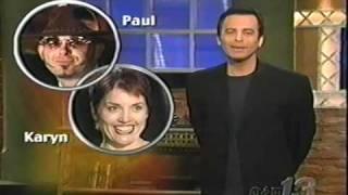 Blind Date TV Show- Paul and Karyn
