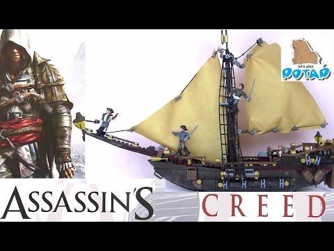 Игры для Мальчиков. Кредо Убийцы! Assassin's Creed Мультик Про Пиратов. Игрушки для Мальчиков