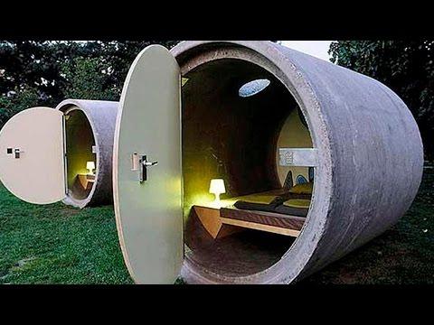 Самые странные гостиницы мира - Самые необычные отели - Топ 5 - Отель на воде, дереве и скале