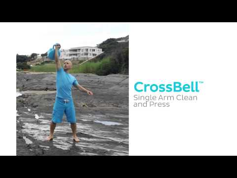 CrossBell Single Arm Clean and Press Exercise - CrossBell Exercise Program Image 1