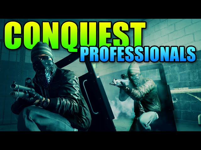 Squad Up Conquest Professionals - We Get It Done | Battlefield Hardline Teamwork