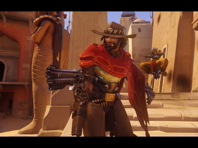 Overwatch: 11 Minutes of McCree Gameplay - PAX East 2015