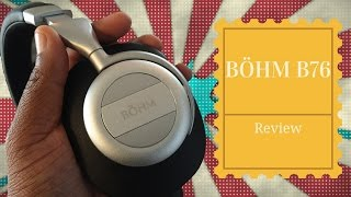 Budget Headphones - Bohm B76 Review: Affordable High End Noise Cancelling Headphones