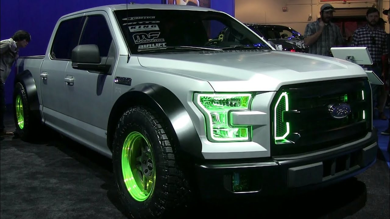 Ford Ranger White 2017 >> 2015 Ford F-150 Custom Trucks - SEMA Show - YouTube