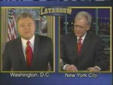 Frank Caliendo on Letterman as Bush