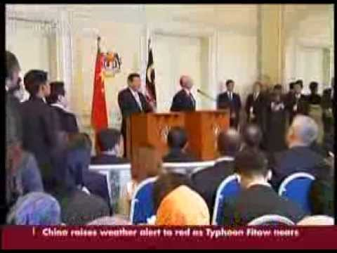 China, Malaysia agree to comprehensive strategic partnership