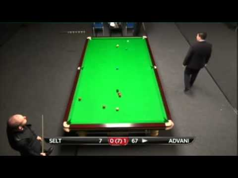 Matthew Selt - Pankaj Advani (Full Match) Snooker Indian Open Qualifiers 2013 - Round 1