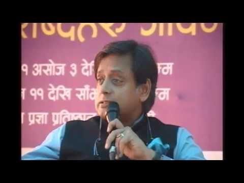 PahiloPost LIVE : Politician as writer (Shashi Tharoor)