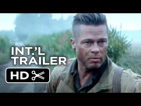Fury Official International Trailer #1 (2014) - Brad Pitt, David Ayer War Movie HD