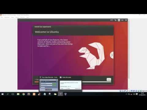 How To Install Ubuntu With Virtualbox on Windows 10