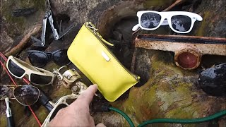 River Treasure: Gold Ring, Silver Ring, And A MYSTERY BAG!!!