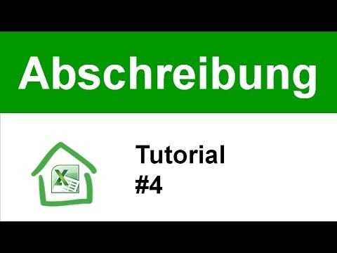 Tutorial #4: Abschreibung AfA Satz (Immobilien Steuern)