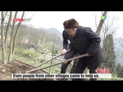 82 year old man in China spends whole life building water channel for villagers to solve water sh