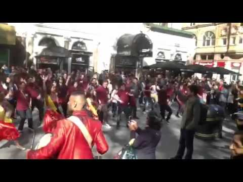 Masala Zone Flash Mob - Leicester Square video