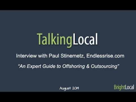 TalkingLocal - Interview with Paul Stinemetz
