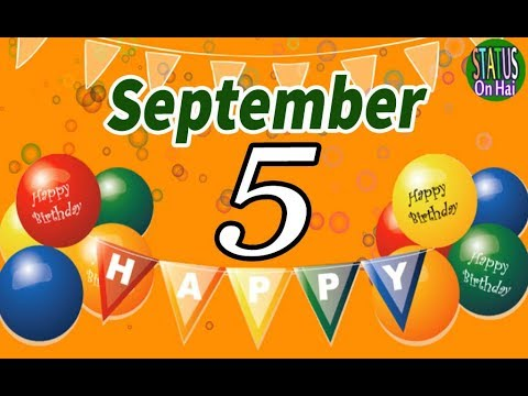 5 September Special New Birthday Status Video, happy birthday wishes, birthday msg quotes जन्मदिन