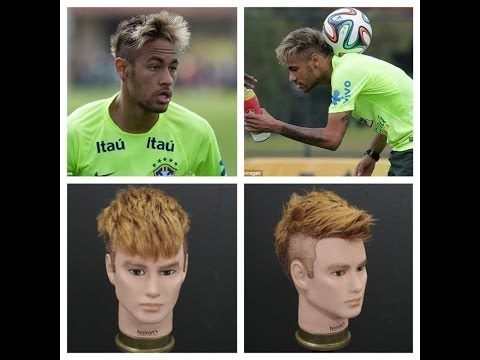 Neymar Haircut & Blonde Hair Color Tutorial