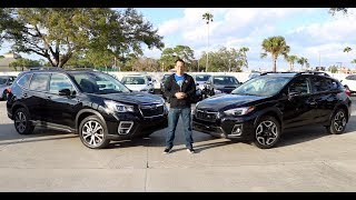 Which Subaru SUV is the RIGHT BUY? 2019 Forester or Crosstrek