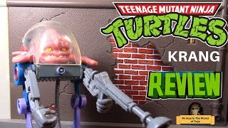 Playmates Teenage Mutant Ninja Turtles Classic Collection Krang Figure Review