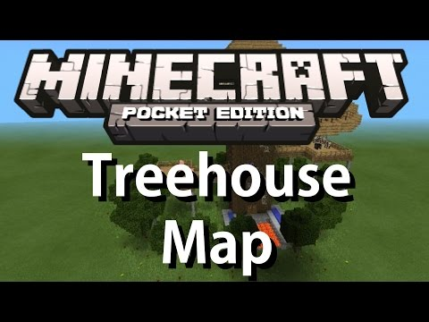 Minecraft PE Treehouse Download