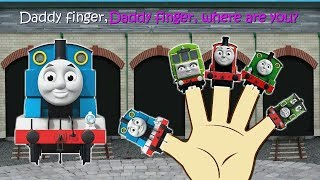 Finger Family Collection - train - Daddy Finger Nursery Rhymes - childzo