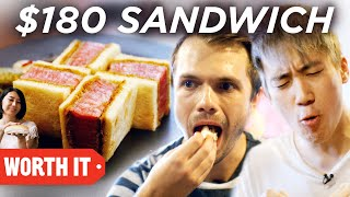 Download Lagu $6 Sandwich Vs. $180 Sandwich Gratis STAFABAND
