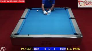 潘晓婷 Pan Xiaoting vs 朴恩智