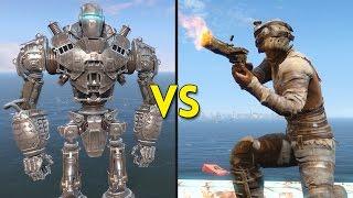 Fallout 4 - LIBERTY PRIME vs 100 RAIDERS - Battles #66