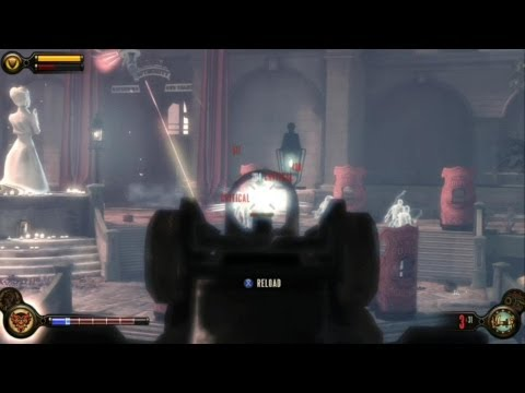 Bioshock Infinite - Lady Comstock's Ghost - Best Kill Method