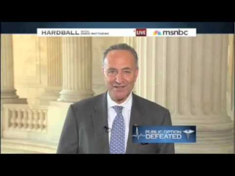 Sen. Schumer on Senate Finance Vote