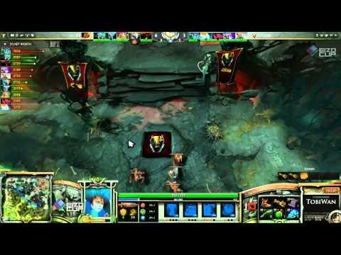 iCCup vs Kaipi Game 3    EIZO DOTA 2 Cup Grand Final   TobiWan