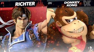Richter Vs. Donkey Kong | CPU