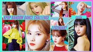LEGENDARY KPOP RANDOM DANCE CHALLENGE