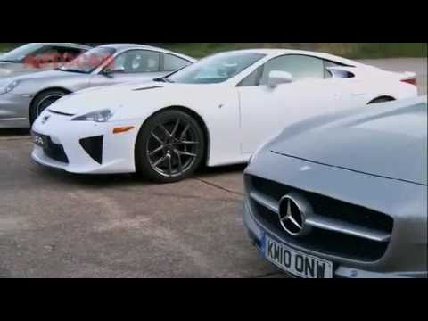 2011 - 911 Turbo S, SLS 63, LFA or GT-R (Drag Race) What's fastest ?