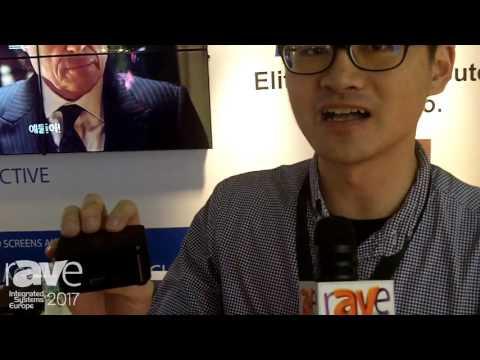 ISE 2017: ECS Launches Pocket PC