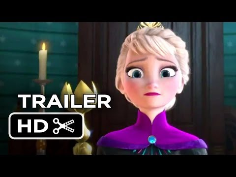 Frozen Official Elsa Trailer 2013 Disney Animated Movie Hd