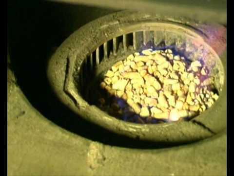 Запуск котла на гранулах GRANDEG