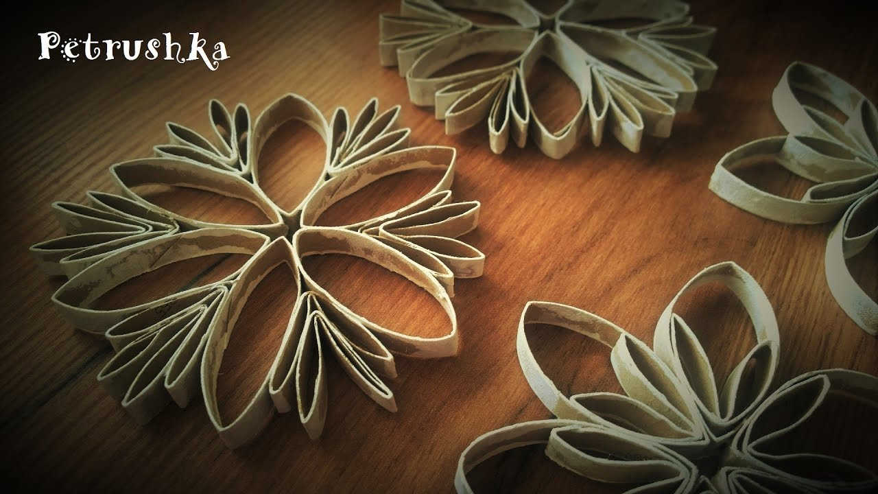 picture How to Make a 3D Paper Snowflake