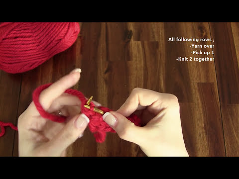 Lace Knitting Patterns - Free Knitting Tutorials - Watch Knitting- pattern 20 - Fish Thorn