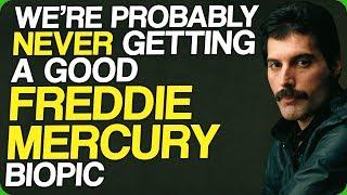We're Probably Never Getting a Good Freddie Mercury Biopic